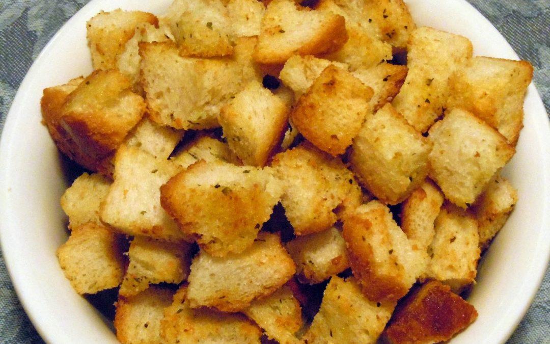 Términos de cocina: croutons