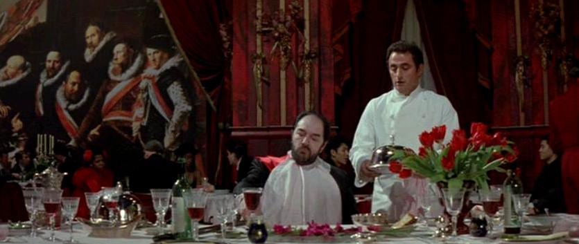 Cine y cocina: El cocinero, el ladrón, su mujer y su amante