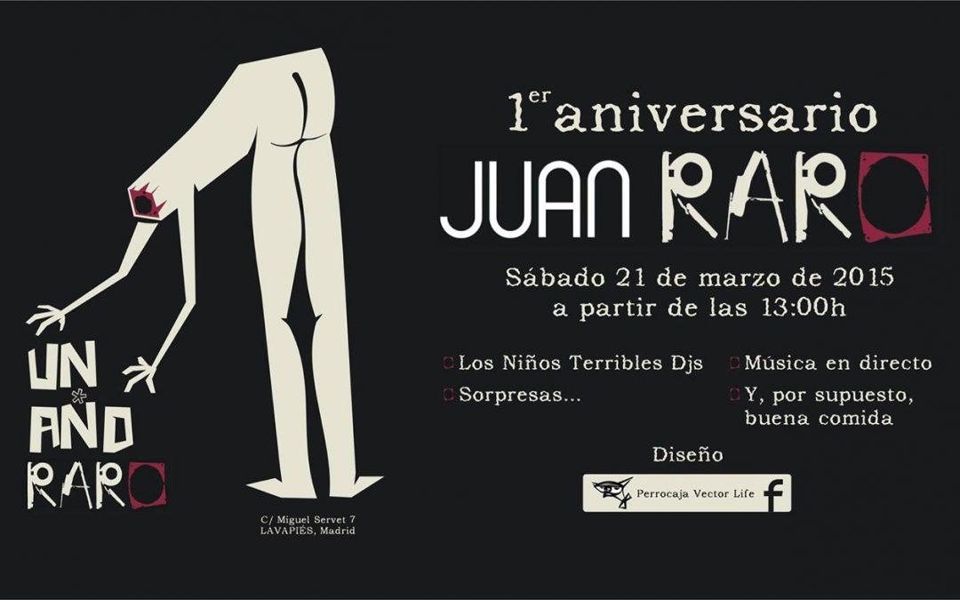 Playlist Juan Raro semana 10 de marzo de 2015