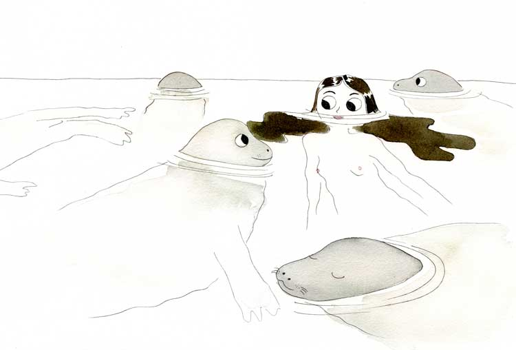 focas-flotando